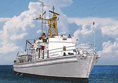 Hms Egeria - Hand Finished, Limited Edition (25)