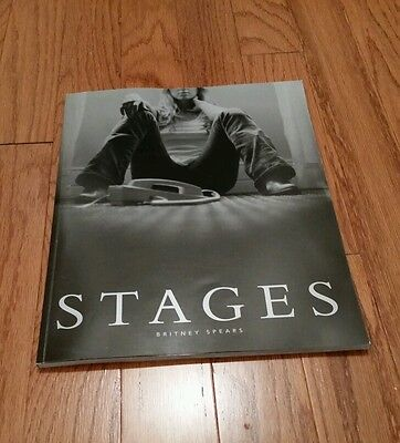 Britney Spears Stages book