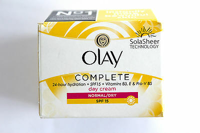 Olay Complete Day Cream 24H Hydration Normal/Dry SPF15 - 50ml