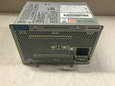 HP ProCurve J8712A 875W Power Supply for zl Switches PoE with WARRANTY