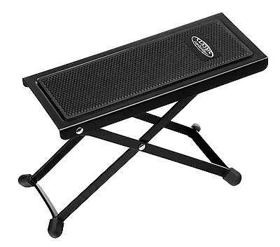 Classic Cantabile Guitar Footstool Footrest Sturdy Adjustable Stage & Home Music