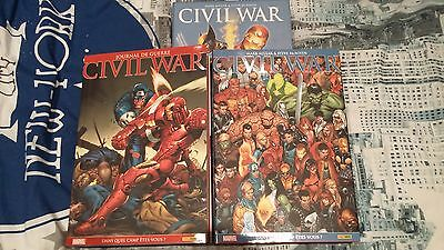 Lot MARVEL ABSOLUTE CIVIL WAR 1 et 2