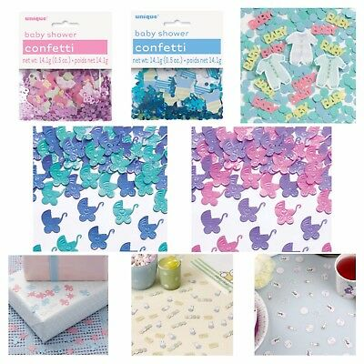 BABY SHOWER TABLE CONFETTI - Metallic Sprinkles/Decoration