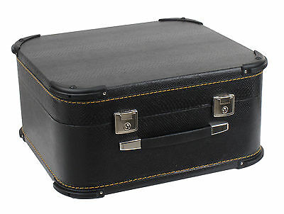 Alpenklang Deluxe 48 Bass Accordion 4-Row Harmonica Carry Case Leatherette New
