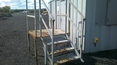 container steps gantry landing use with toilet shipping anti vandal office
