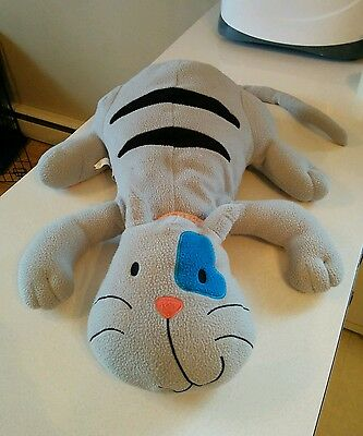 Caillou cat GILBERT HUGE PLUSH RARE! Doll pillow 25 inch