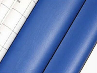 blue adhesive faux leather upholstery vinyl fabric auto car interior seat cover
