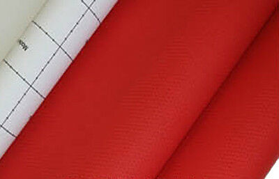 red punch hole faux leather adhesive car vinyl upholstery home fabric auto 1yd