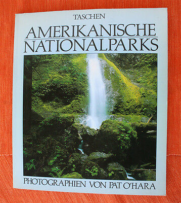 AMERICAN NATIONAL PARKS. German, One of the Best ever! SIZE 34 x 29CM, LIKE NEW!