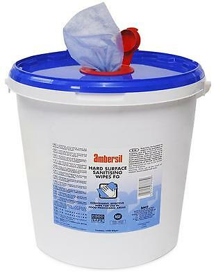 HARD SURFACE SANITISING WIPES (PK 1000) - Chemical - Accessories