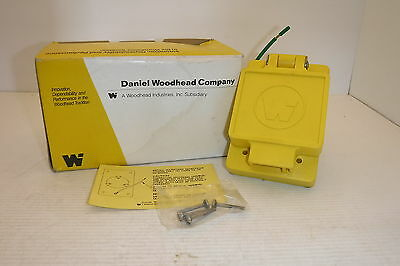Daniel Woodhead 69W83 Watertite Flip Lid Female Receptacle Nema L23-30 Nib