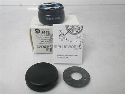 855E-BCBC 855EBCBC Ser A Allen Bradley Surface -1/2Npt Base and Cap Black (New)