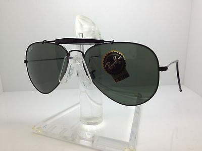 229517f1382 New Ray Ban Sunglasses RB 3030 L9500 rb3030 rayban outdorsman I black cable  58m
