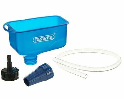 Draper Oil Funnel With Tube Car Oil Funnel Engine Oil Funnel With Tube Blue