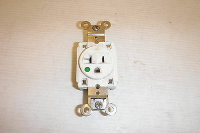 Hubbell Single Outlet Receptacle 20A 125V