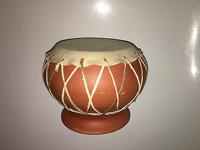 Ceramic doumbek ancient medieval antique darbuka goblet drum