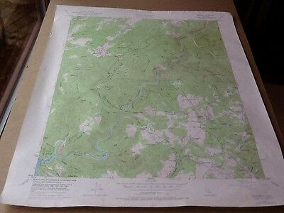 1973 Dept Of Interior Topo Map Lot #96 , Columbia, Calif. Before Malones Expand