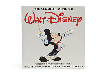 Disney The Magical Music of Walt Disney 50 Years Vinyl 4 LP Set Mickey Mouse