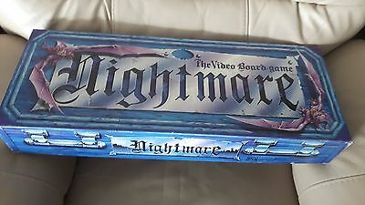 Nightmare The Video Board Game VHS 1 & 2 Complete