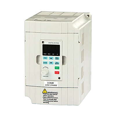 New VFD Drive VFD Inverter Variable Frequency Drive 2.2KW 3HP 22KW 3HP 220V 10A
