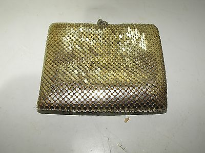 Vintage 70s Park Lane Mesh Purse-Wallet Looks Great with Tag.