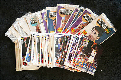 LOTE +200 Trading Cards UPPER DECK, 1993-94 Serie 1 (Completa menos 20) & EXTRAS