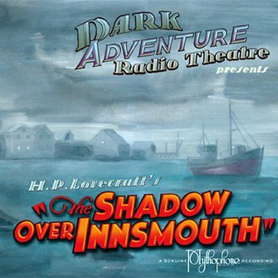 H.P. Lovecraft History Call of Cthulhu Dark Adventure Radio Theatre 3 CD MINT