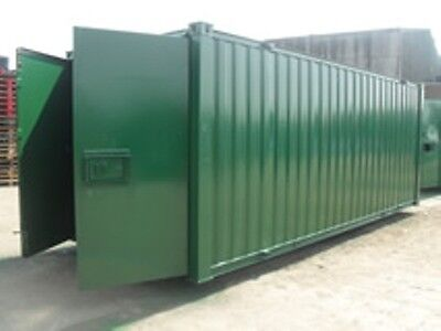 21ft Anti vandal Storage Container - Racing Green