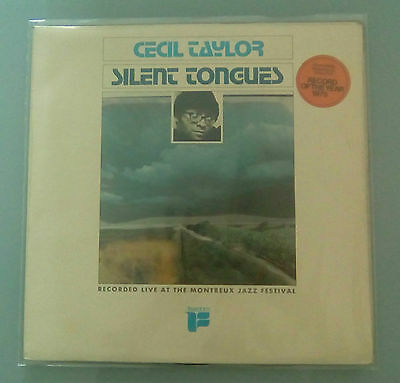 Cecil Taylor - Silent tongues Live at Montreux '74  TOP RARE FREE JAZZ LP UK