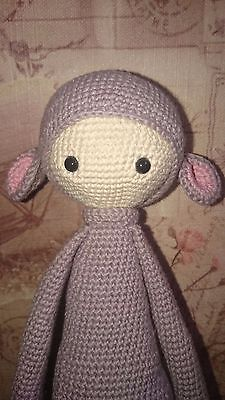 Ret Rada amigurumi doll / Handmade toy / Crochet mouse toy / Mouse doll