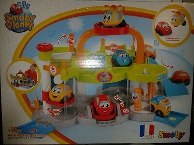New Smoby 120402 Planet My First Garage Boys & Girls Toy +Free Gift Wrap On £25