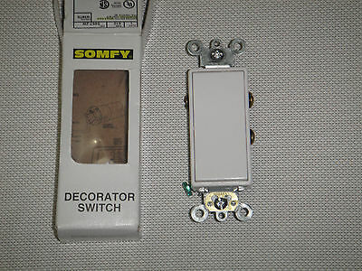 SOMFY Decorator Switch White