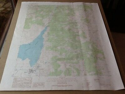 1989 Dept Of Interior Topo Map Lot #118, Bridgeport, Calif.,bridgeport Reservoir