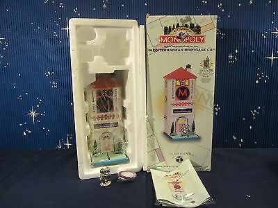Dept 56 SIXTY MEDITERRANEAN MORTGAGE AVE Monopoly Citylights   #13600   (1116SH)