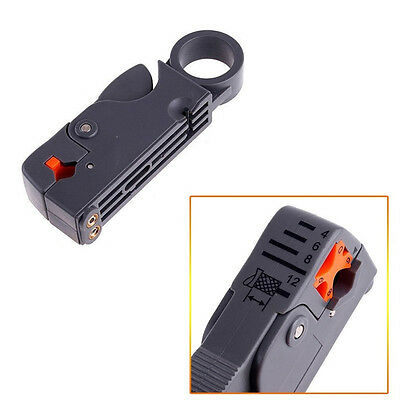 RG Computer Coaxial RG58 Wire Cable RG6 Rotary Tool Cutter Stripper