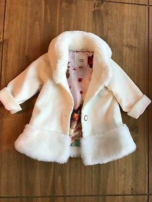 Baby Ted Baker Girls Coat 12-18