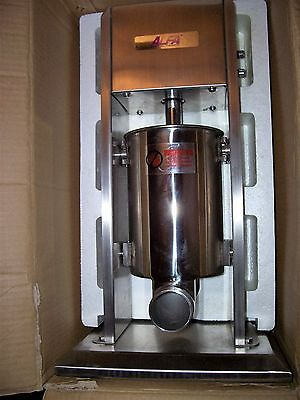 Alfa 3L Stainless Steel Dual Speed Virtical Sausage Or Pastry Stuffer / Filler