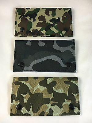 Camouflage Canvas Tobacco Pouch fit 25g cigarette roling papers