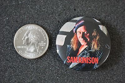 Sam Kinison 80's Comic Comedian Funny Pin Pinback Button #18951
