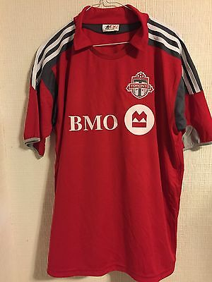 Toronto FC Soccer Jersey Red Size Large