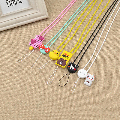 Anime Pendant Neck Lanyard Cell Phone Strap ID Badge Key Holder Office Supplies