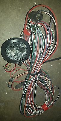 Mariner Mercury outboard motor tilt trim switch with wiring