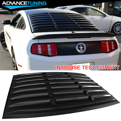 05 06 07 08 09 mustang oem genuine ford parts bullitt faux for 06 mustang rear window louvers