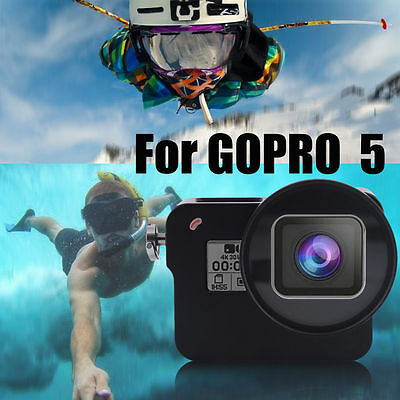 For GoPro Hero5 Camera Accessory 45m Waterproof Diving Protective Housing Case
