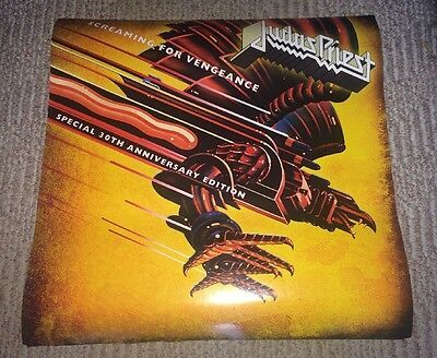 Judas Priest 24x24 Screaming For Vengeance Special 30th Anniversary Poster