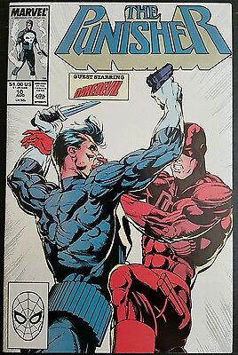 THE PUNISHER #10 (1987 2nd SERIES) *CROSSOVER WITH DAREDEVIL #257* (NETFLIX) NM