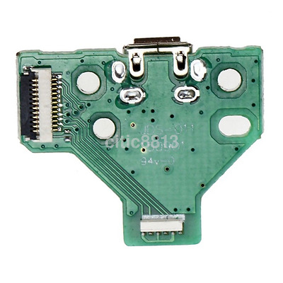 USB Charger Charging Port Socket Board JDS-011 12 pin for PS4 Controller Part UK