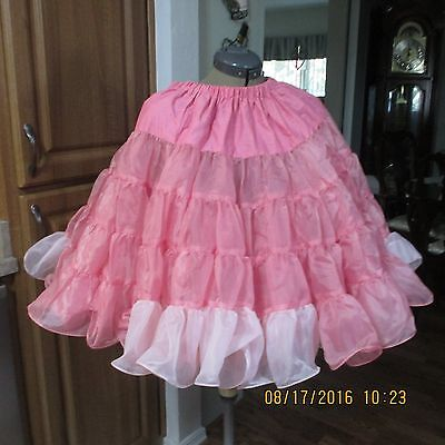 Mt #38--Square Dance Petticoat,2 Layers Nylon.,,