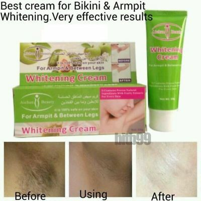 Best Cream For Bikini-Underarm Armpit Elbow Knee Dark Area Whitening Lightening@