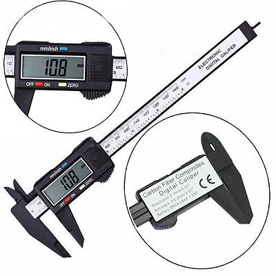 LCD Electronic Digital Gauge Stainless Vernier Caliper 150mm 6 inch Micrometer
